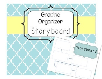 Storyboard Narrative Writing Graphic Organizer
