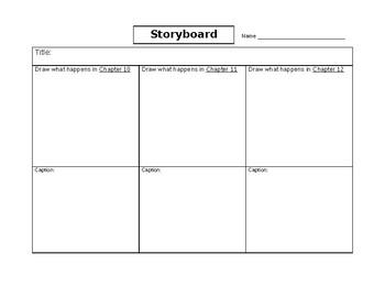 Storyboard Graphic Organizer