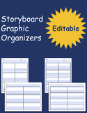 Storyboard Graphic Organizers - Fillable & Editable