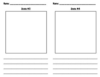 Storyboard Planning Sheets