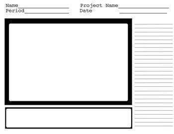 Storyboard SINGLE panel