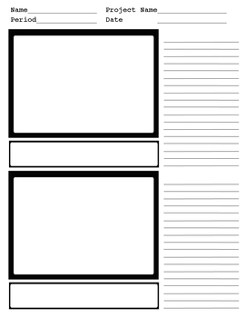 Storyboard TWO panel