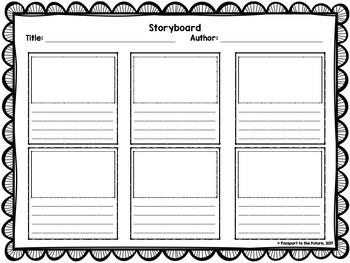 Storyboard template teaching resources teachers pay teachers storyboard template storyboard template maxwellsz