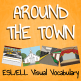 "Teaching ESL/ELL - ""Around the Town"" Packet"