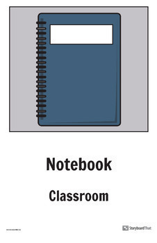 """Storyboard That - Teaching ESL/ELL - """"Classroom Objects"""" Packet"""