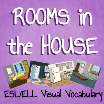 """Storyboard That - Teaching ESL/ELL - """"Rooms in the House"""" Packet"""