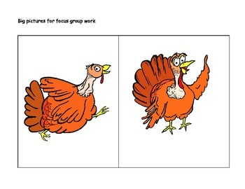 "Storyboarding - ""A Turkey's Story"""