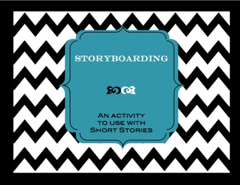 Storyboarding for a Short Story Review: Art or Technology Activity #edtech
