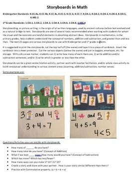 Storyboards for Math Concepts