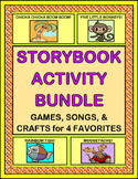 """""""Storybook Activity Bundle"""" -- Group Games, Songs, and Crafts for Four Favorites"""