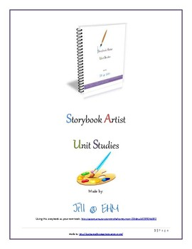 Storybook Artist Unit Studies