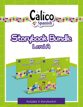 BUNDLE of THREE beginner Spanish elementary readers