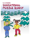 First Grade Storybook: C.J. & Natalie's Sunsational Puzzle Quest