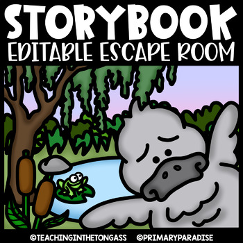 Storybook Escape Room EDITABLE  | The Ugly Duckling