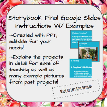 Storybook Floral Final Project Information PPT