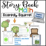 Digital Math Scaredy Squirrel Google Classroom™ Microsoft Teams