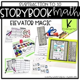 Storybook Math Subtraction to 10 (Kindergarten): Elevator Magic