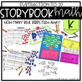 Storybook Math Subtraction to 10 (Kindergarten): How Many
