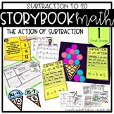 Storybook Math Subtraction to 20 (First Grade): The Action