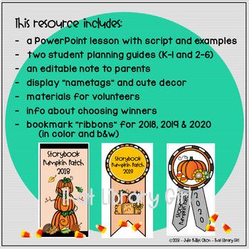 Storybook Pumpkin Patch - Book Character Pumpkins with Super 3