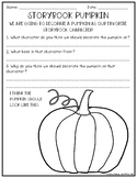 Storybook Pumpkin Sheet