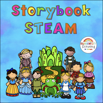 Storybook STEM/STEAM Bundle for Grades 3,4, and 5
