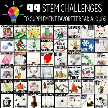 Storybook STEM {All Year BUNDLE!}