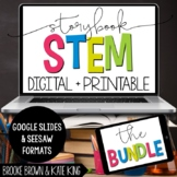 Storybook STEM: DIGITAL + PRINTABLE GROWING BUNDLE for Dis
