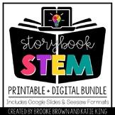 Storybook STEM: DIGITAL + PRINTABLE BUNDLE for Distance Learning