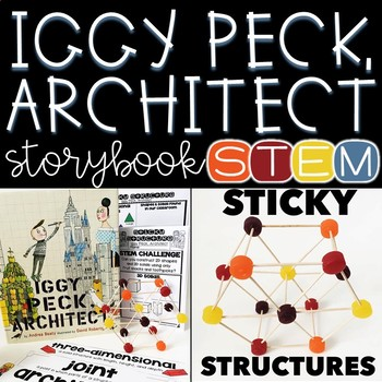 Storybook STEM {Iggy Peck, Architect FREEBIE}