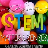 Storybook STEM Science {MATTER & SENSES/PROPERTIES}