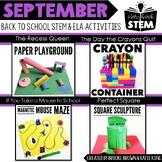 Storybook STEM {September} - Back to School STEM