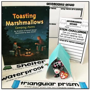 Storybook STEM {Special Camping Edition}