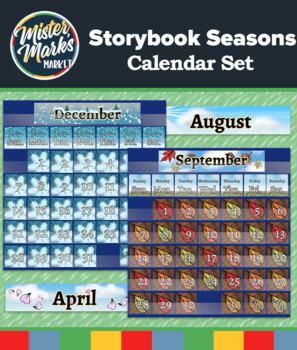 Storybook Seasons Calendar Set
