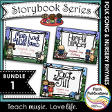 Storybook Series -{ BUNDLE 1} Mary Had a Little Lamb, Jack & Jill, Humpty Dumpty