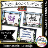 Storybook Series - {BUNDLE 2} Twinkle Twinkle, IB Spider, Baa Baa Black Sheep