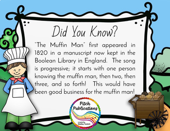 Storybook Series - {BUNDLE 3} Rain, Rain, The Muffin Man, Little Miss Muffet