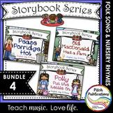 Storybook Series - {BUNDLE 4} Old MacDonald, Pease Porridge Hot, Polly/Kettle On