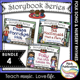Storybook Series - {BUNDLE 4} Old MacDonald, Pease Porridg