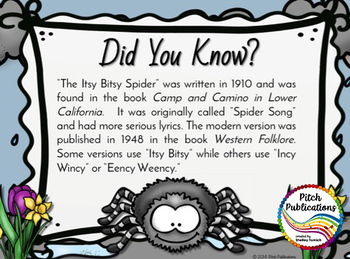 Storybook Series - Itsy Bitsy Spider / Eency Weency Spider - Folk Song