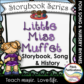 Storybook Series - Little Miss Muffet  (2 versions of Little Miss Muffet)