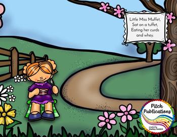 Storybook Series - Little Miss Muffet  (2 versions of Little Miss Muffet)