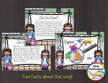 Storybook Series - Polly Put the Kettle On - Nursery Rhyme and Folk Song