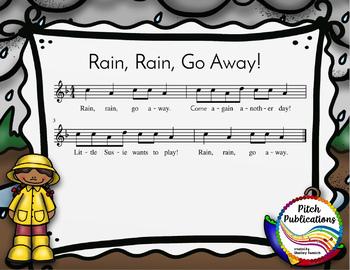 Storybook Series - Rain, Rain, Go Away! - Nursery Rhyme and Folk Song