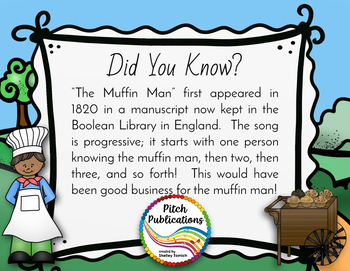 Storybook Series - The Muffin Man  (2 versions of the baker) - Folk Song
