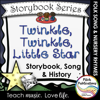 Storybook Series - Twinkle, Twinkle, Little Star - Nursery Rhyme / Folk Song