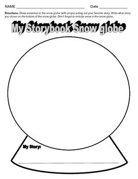 Storybook Snow Globe