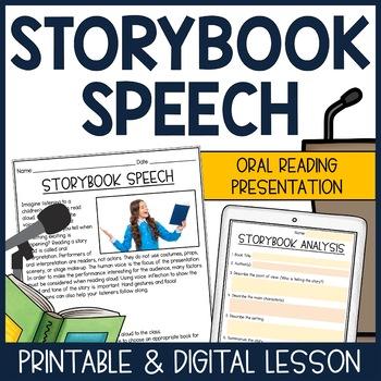 Public Speaking: Storybook Speech