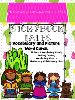 Storybook -- Vocabulary and Picture Word Cards {Ladybug Learning Projects}