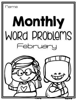 Monthly Word Problems {February}